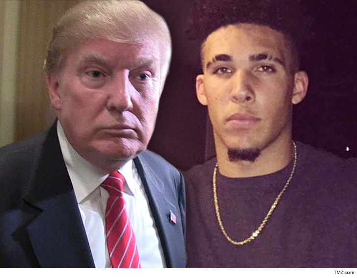 President Trump Gets China To Free Shoplifting UCLA Basketball Players