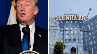 Trump Wants To Revoke Scientology Tax Exemption