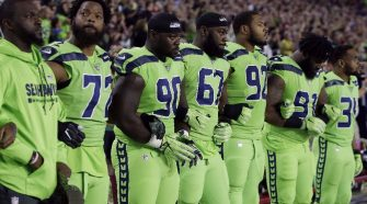 NFL Star Michael Bennett Drops From National Anthem Protest