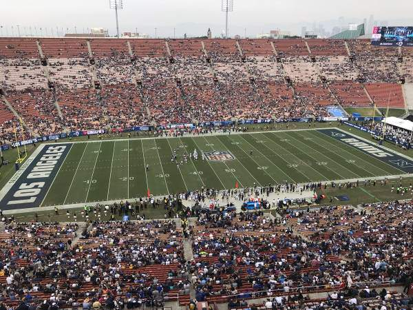 More Empty NFL Stadiums