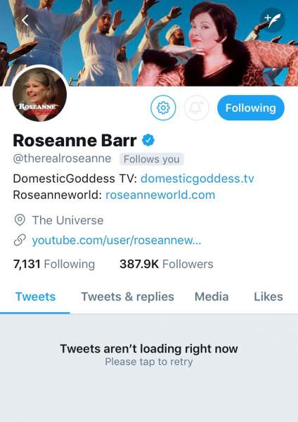 Roseanne Barr Hints At Child Sex Trafficking Bombshell