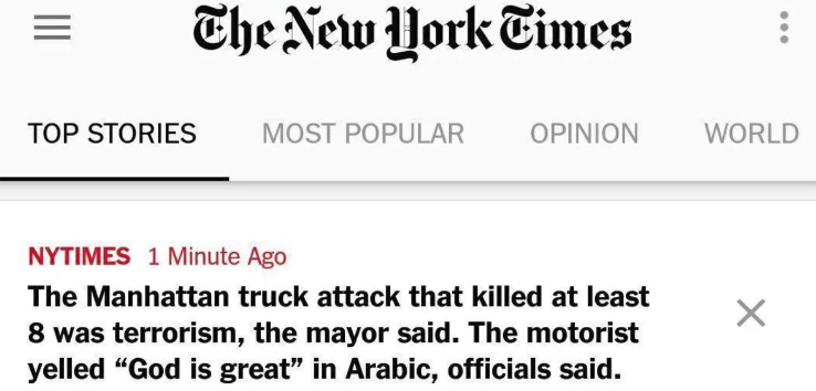 CNN Changes 'Allahu Akbar' To 'God Is Great', New York Times