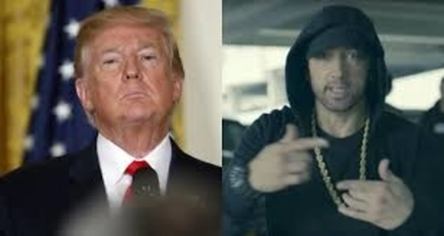 Eminem 'Extremely Angry' At Trump For Ignoring Him