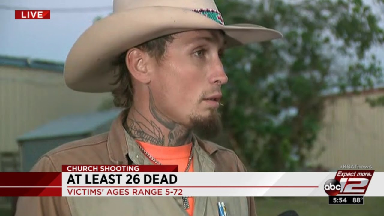 Interview of Texas Hero Who Chased Down Gunman