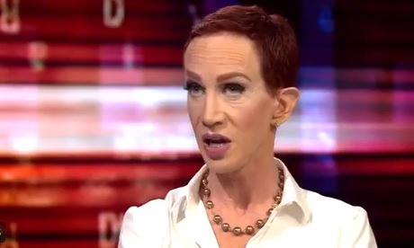 Bald Kathy Griffin