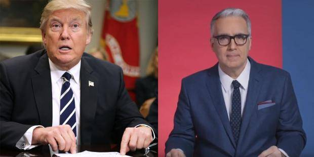 Crazy Keith Olbermann Trashes Trump
