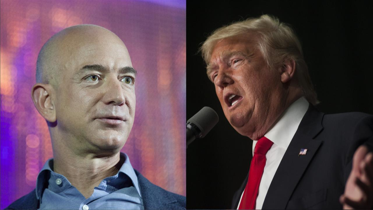 Trump Attacks Amazon - Should Pay 'Much More' To Ship Packages