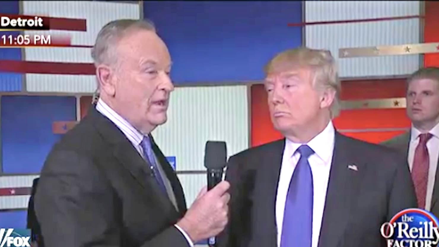 Bill O'Reilly Claims A Secret Tape Exists Of Woman Offered $200k To Falsely Accuse Trump Of Sexual Misconduct - VIDEO