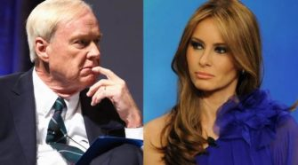 Creepy Chris Mathews Gushes Over Melania On Hot Mic