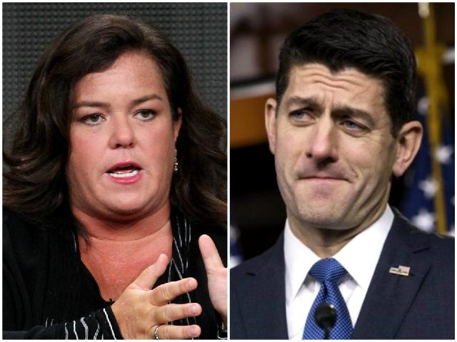 Rosie O'Donnell Goes After Paul Ryan