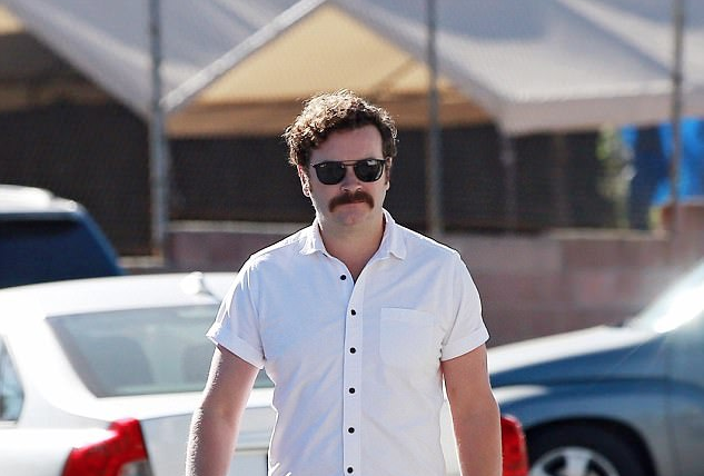 Accused Rapist Danny Masterson Emerges From The Shadows With Mustache