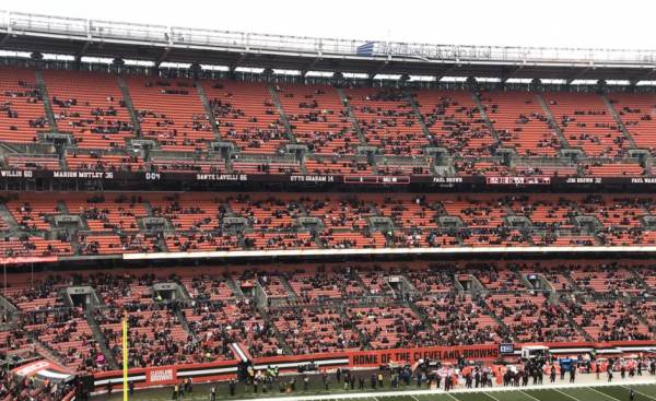 NFL Week 15 Empty Seats
