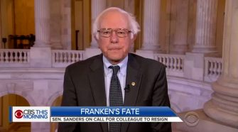 Bernie Sanders Calls For Trump To 'Think About Resigning'
