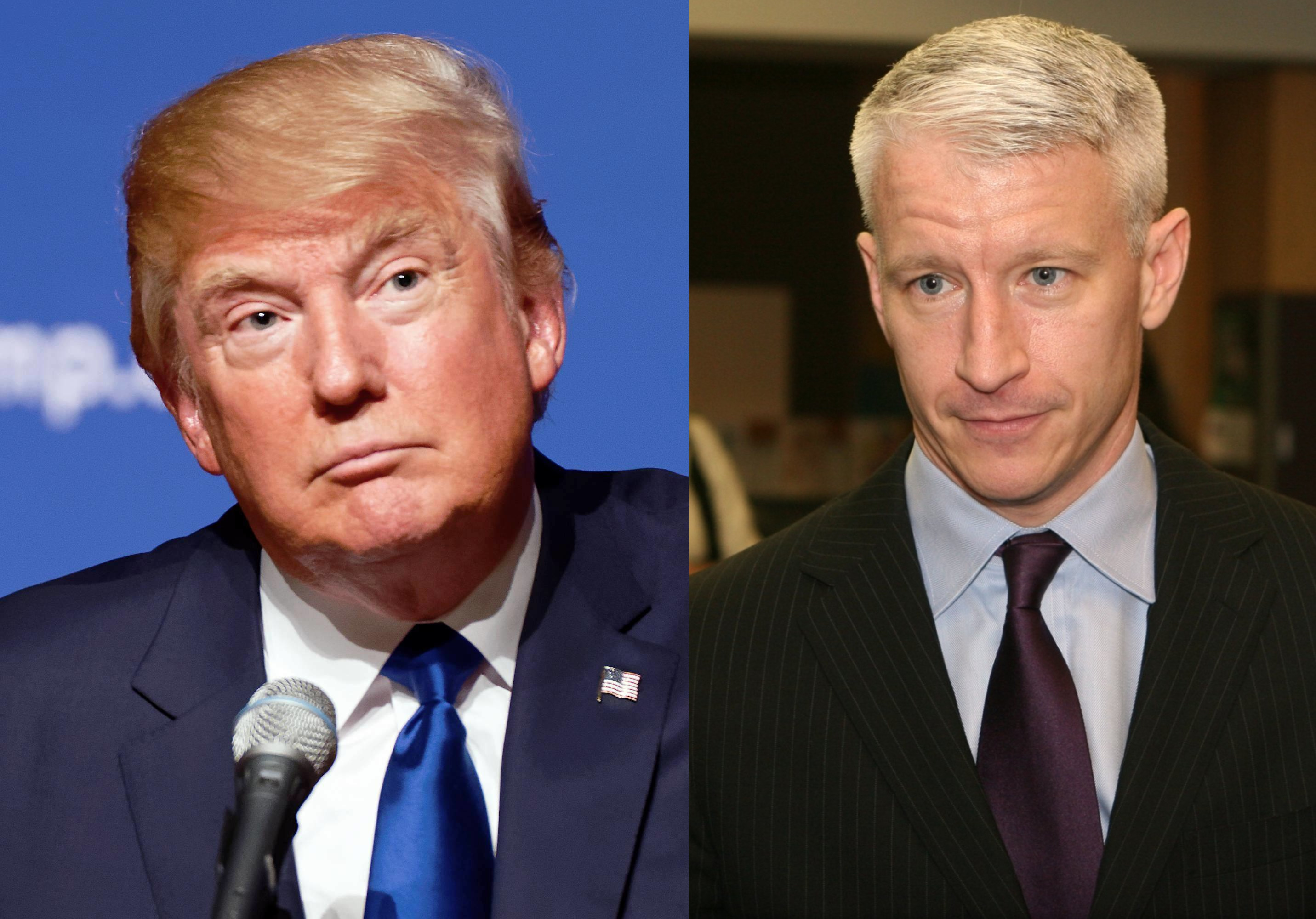 Anderson Cooper Rips Trump On Twitter