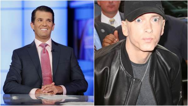 Donald Trump Jr. Trolls Eminem After His New Album Is A Bust