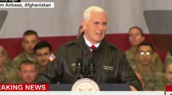 Trump Gives Mike Pence A Powerful Message To Deliver To Troops