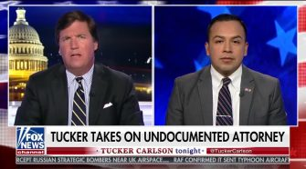 Illegal Immigrant Lawyer Gets Taken Down By Tucker Carlson