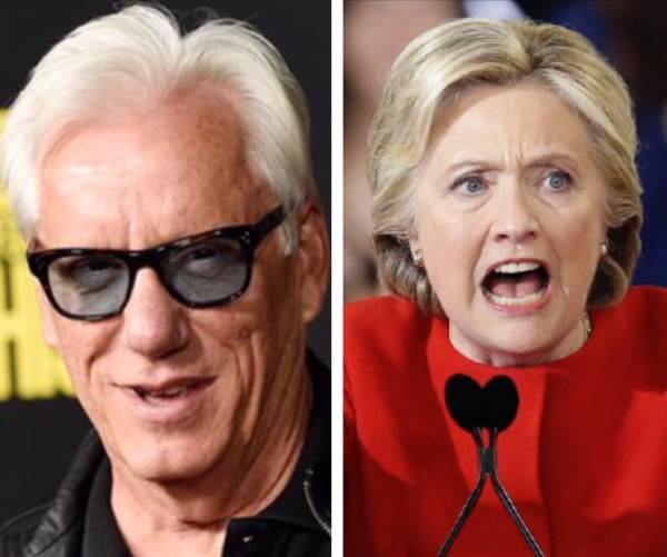 James Woods Rips Hillary Clinton After Her Strange Video 'Thanks Activist B*tches' Goes Viral