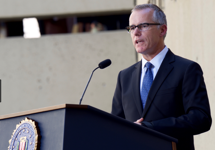 FBI Deputy Director McCabe Threatened To 'Torch The FBI' If Forced Out Without Pension