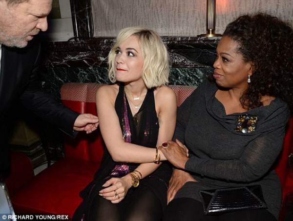 British Actress: Weinstein Used Oprah To Lure Me Into His Room #MeToo