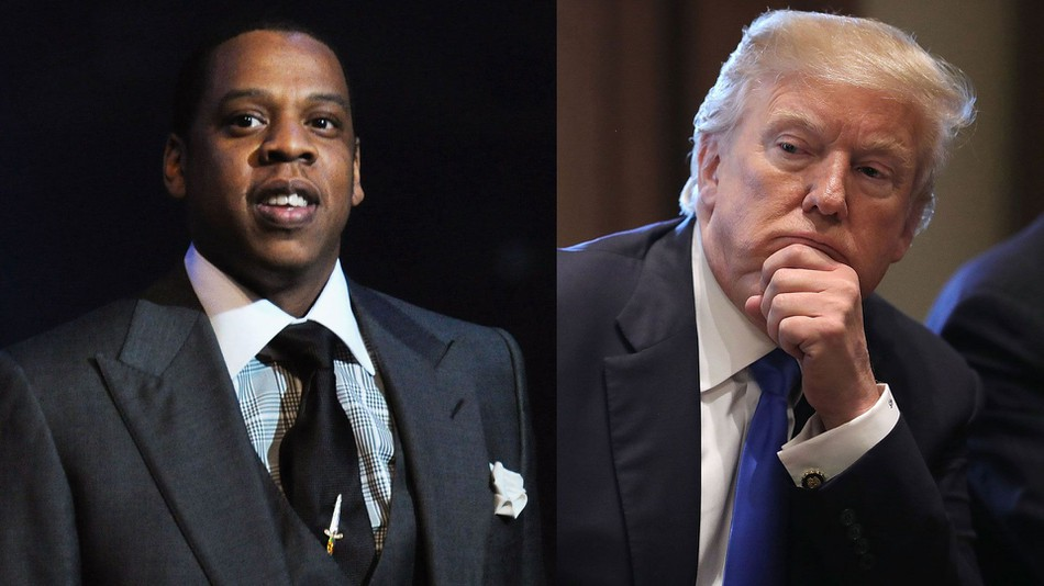 Trump Takes Down Jay-Z With One Tweet