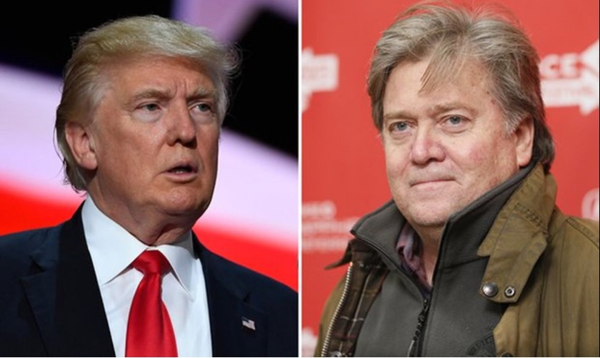 Trump Fires Back At Bannon
