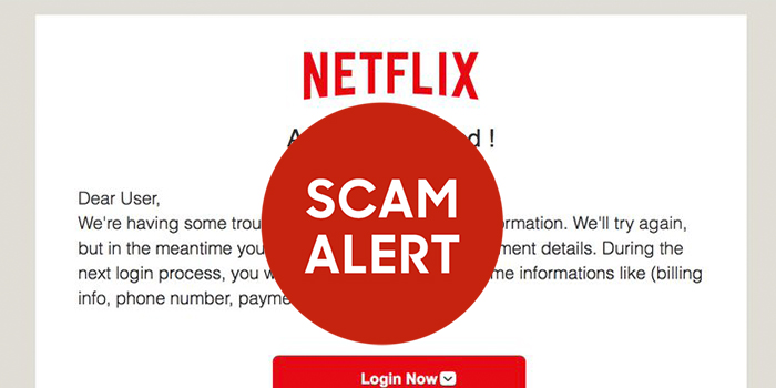 New Scam Targeting Netflix Customers
