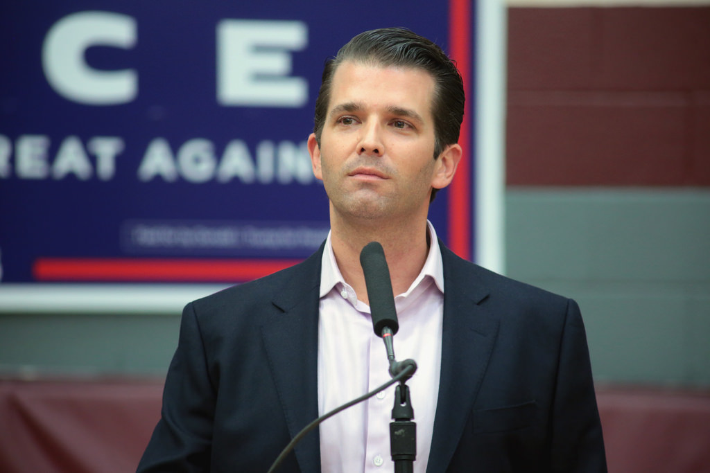Donald Trump Jr.'s Wife Ingested Unidentified White Powder In Letter Sent To Their Home