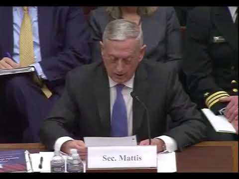 James Mattis To American Enemies: 'If You Threaten Us, It Will Be Your Longest and Worst Day'