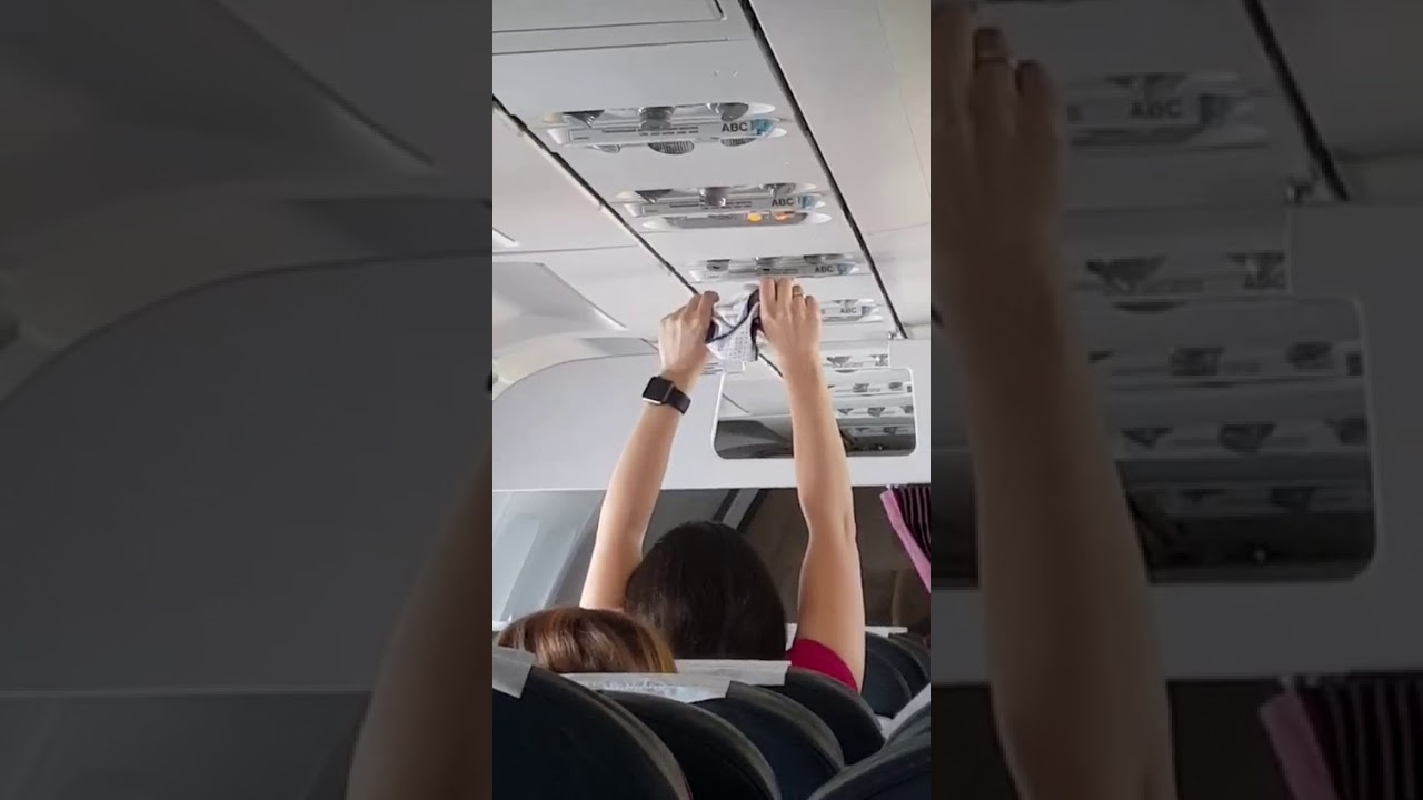 Viral Video Of Flight Passenger Airing Out Her Underwear On Commercial Flight
