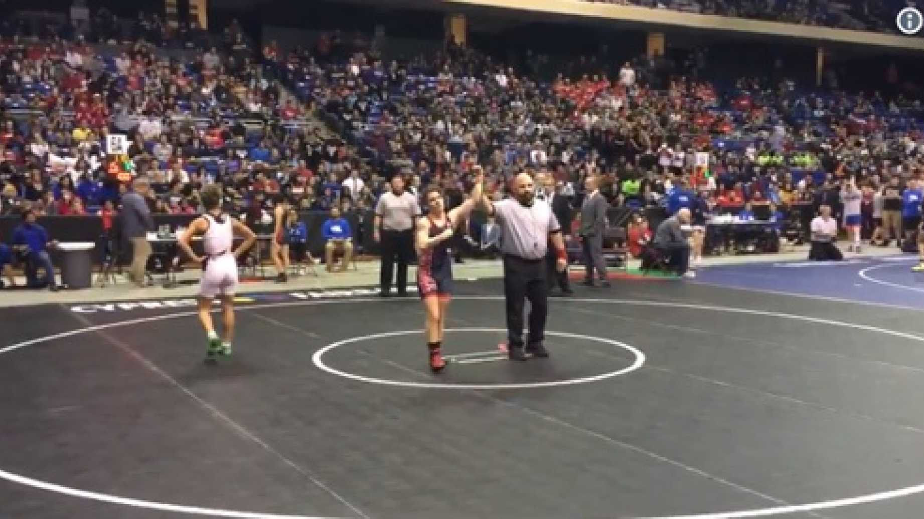 Trans 'Male' Loaded With Testosterone Wins Second Straight Girls State Wrestling Championship