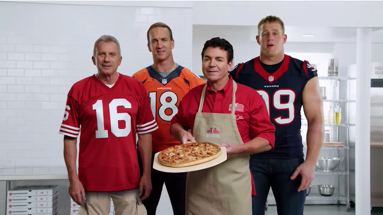 Peyton Manning Dumps His Papa John's Franchises In Denver Area