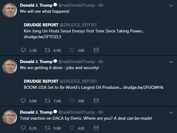 Twitter Hides Tweets By President Trump and Don Jr.