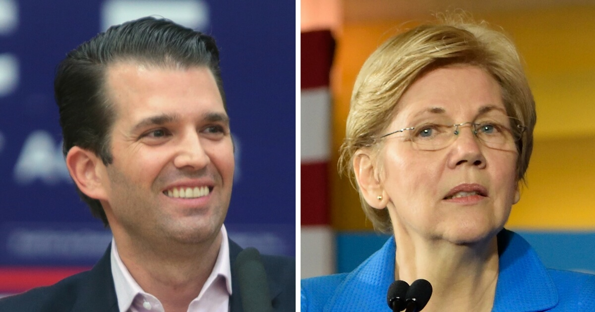 Donald Trump Jr. Trolls Elizabeth Warren on Twitter - Think Americana