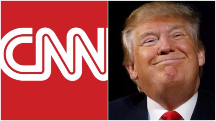 Trump Approval Rating Soaring In CNN's Latest Poll