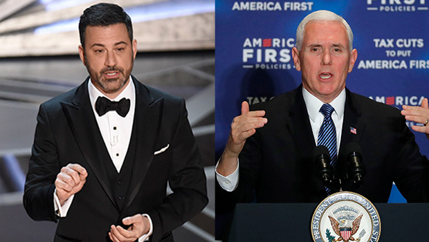 Jimmy Kimmel: We Make Films To 'Upset Mike Pence'