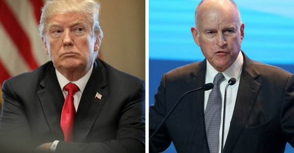 Governor of California Criticizes The Wall