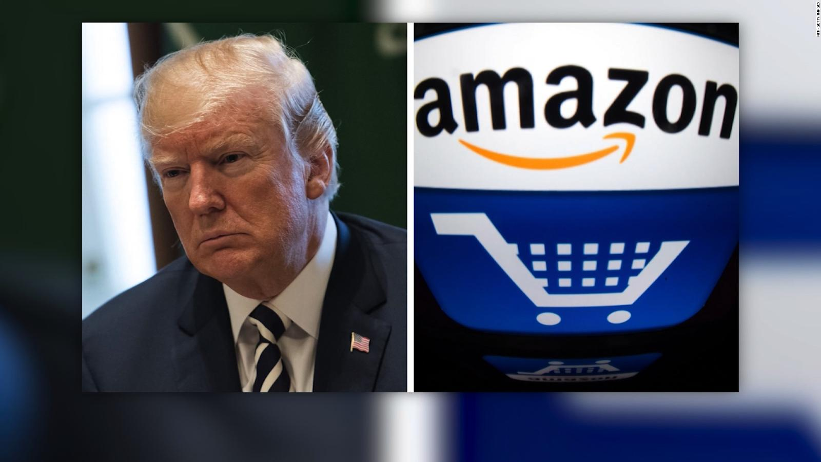 Trump's Battle vs Amazon Rages On, He Creates Task Force to Assess USPS Operations, Finances