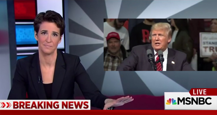 Rachel Maddow: 'Perception' Trump Ordered Syria Strikes as Distraction From Domestic Scandal