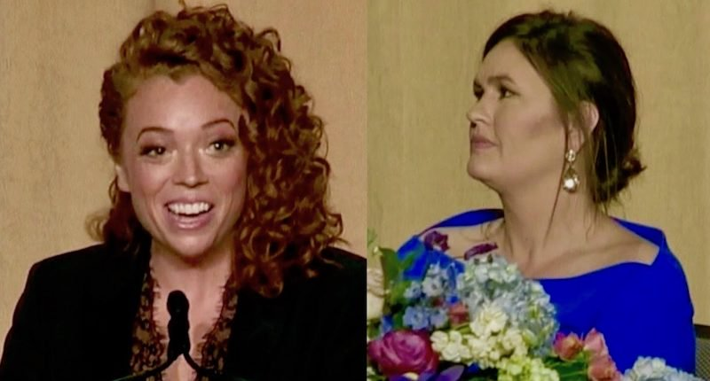 Comedian Attacks Sarah Sanders at Correspondent's Dinner