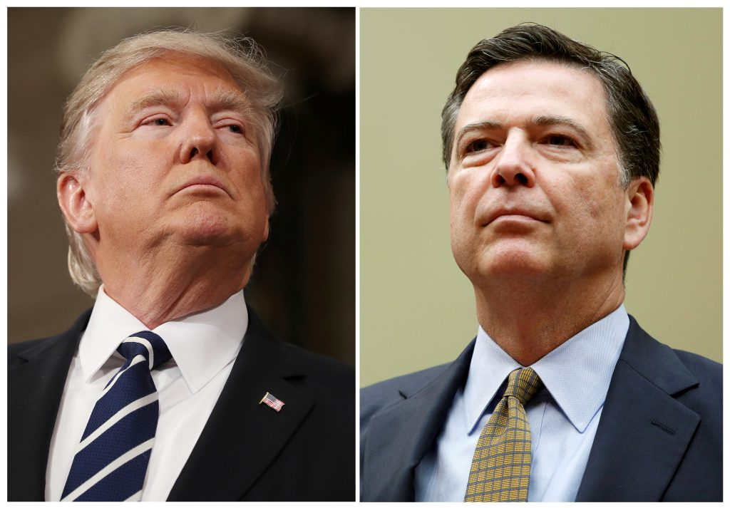 President Trump Rips Former FBI Director James Comey