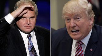 Rush Limbaugh Claims Someone Will Create 'a tape of prostitutes peeing on a bed' to Hurt Trump