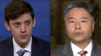 California Congressman Tells Conservative Parkland Student to Come to California to Get High