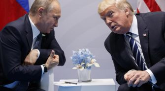 Bloomberg Has Proof Trump Lied About Russia Trip