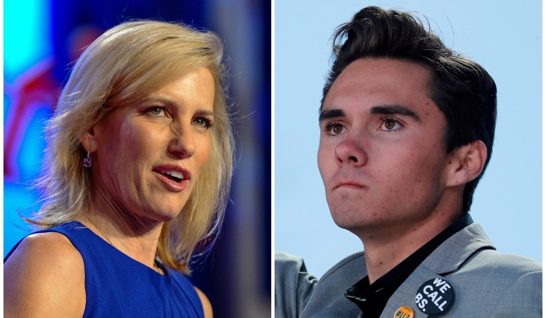 Fox News Releases Statement, Stands Behind Laura Ingraham, David Hogg