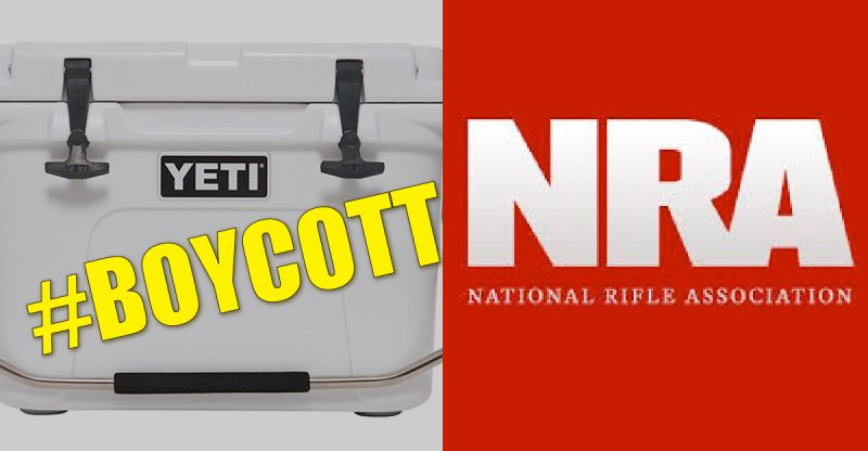 #BoycottYETI Movement Goes Viral