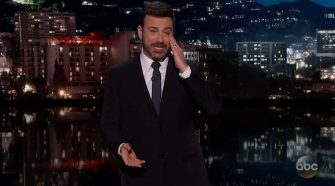 Crying Jimmy Kimmel Is Back At It