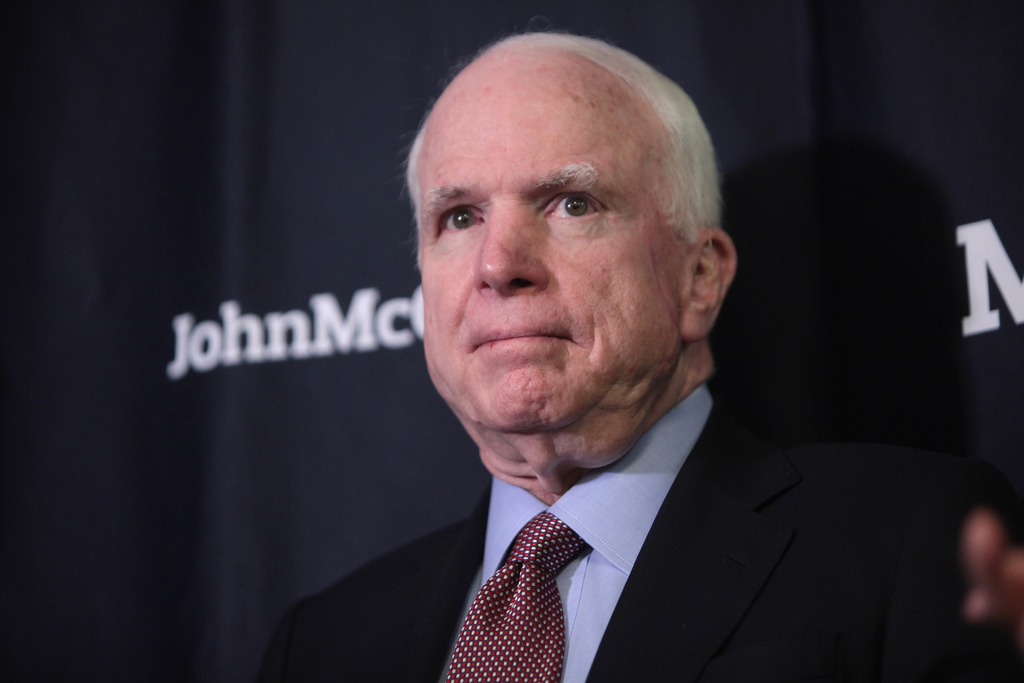 John McCain Tells Friends He Doesn't Want Trump at Funeral