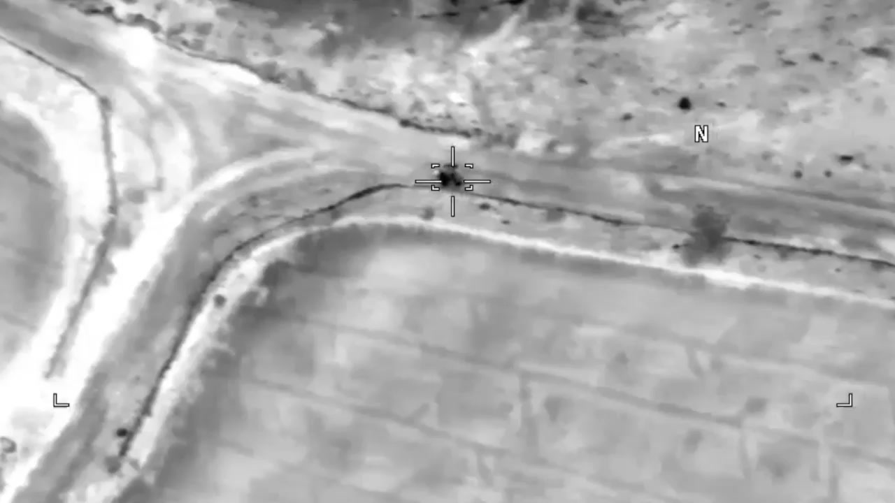 US Department of Defense Releases Video of Airstrike That Killed al-Qaeda Leader