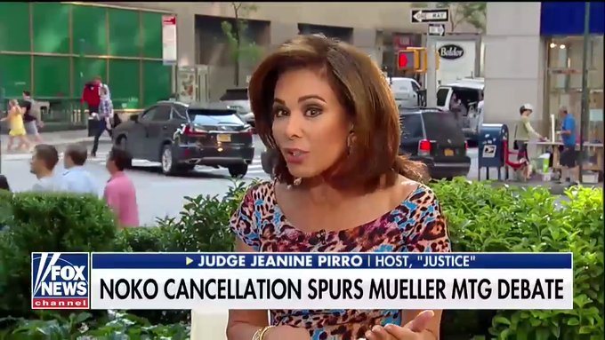Judge Jeanine Pirro Rips the DOJ